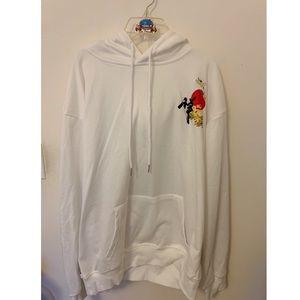 slicklane japanese wave hoodie